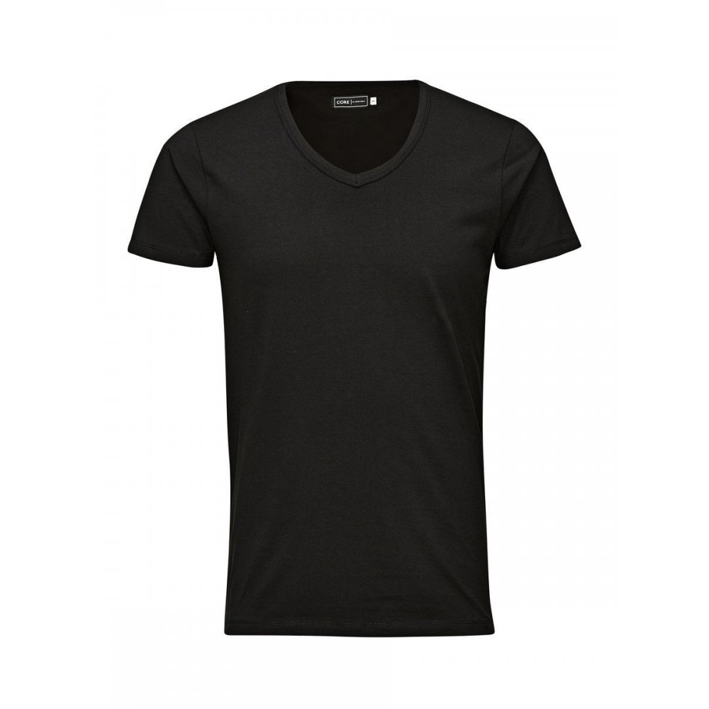 Black t shirt xxl - Jack Amp Jones V Neck Quality Plain T