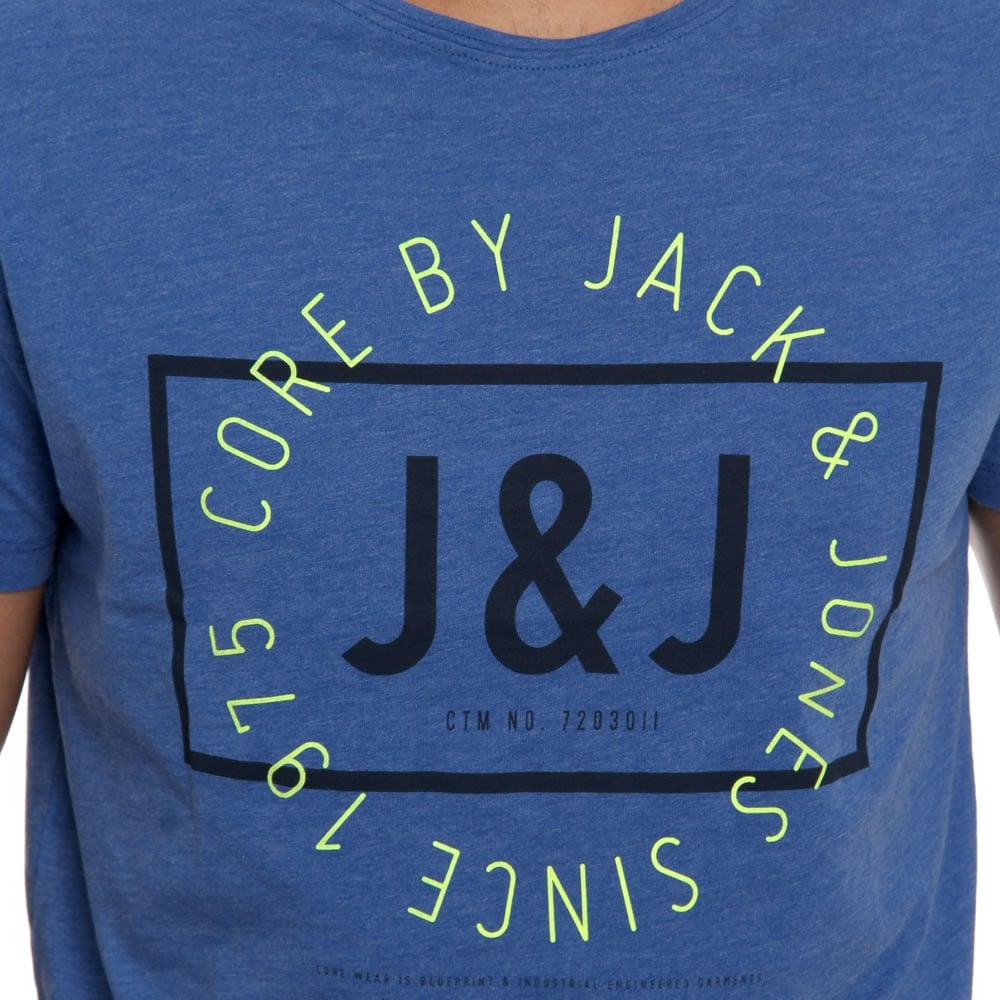 Jack-amp-Jones-Mens-New-Designer-Retro-Vintage-Sport-Crew-Neck-T-Shirt-BNWT thumbnail 8
