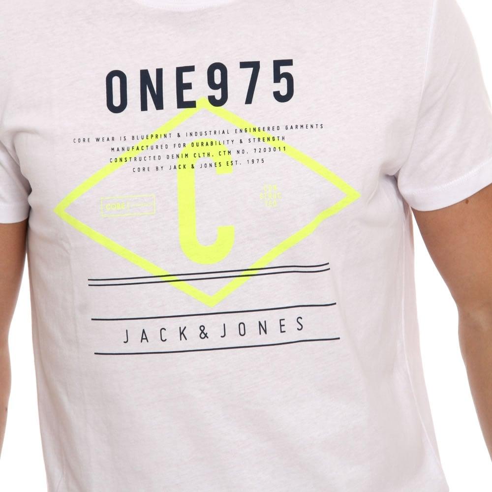 Jack-amp-Jones-Mens-New-Designer-Retro-Vintage-Sport-Crew-Neck-T-Shirt-BNWT thumbnail 10