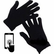 ADULTS Touch Screen Magic Gloves Stretch Winter Mens Black Ladies Womens Phone UK