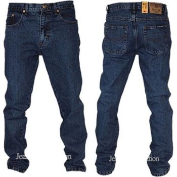 "Aztec Regular Fit Straight Leg 29"" Leg Jeans Stonewash"