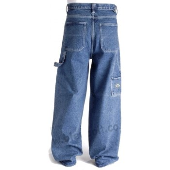 """Bleu Bolt London 2275 24"""" Baggy Carpenter Jeans Stonewash Blue"""