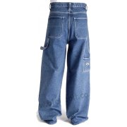 "Bleu Bolt London 2275 24"" Baggy Carpenter Jeans Stonewash Blue"