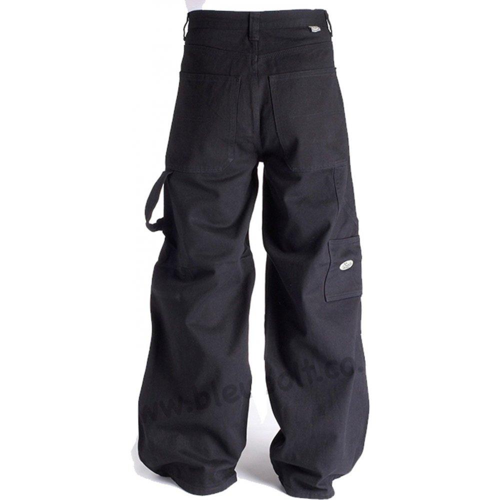 """Bleu Bolt 2275 24"""" Carpenter Jeans Black Black"""