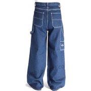 "Bleu Bolt London Baggy 2275 24"" Baggy Carpenter Jeans Indigo"