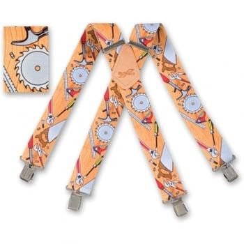 "Brimarc Mens Heavy Duty Carpenter's Braces Trouser Belt Suspender 2"" 50mm Wide"
