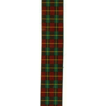 "Brimarc Mens Heavy Duty Red Plaid Braces Trouser Belt Suspender 2"" 50mm Wide"