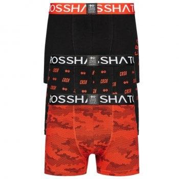 Crosshatch 3 Pack Camogo Designer Boxer Trunks Underwear Formula One