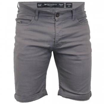 Crosshatch Men Fastrack Designer Cargo Chino Shorts Eiffel Tower