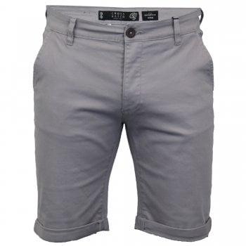 Crosshatch Men New Brandons Designer Cargo Chino Shorts Wet Weather