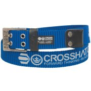 Crosshatch Mens Branded Calibro Canvas Designer Nylon Belt Royal