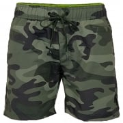 Crosshatch Mens Designer Army Camo Swimming Trunks Shorts Green