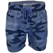 Crosshatch Mens Designer Army Flofast Swimming Trunks Shorts Blue Camo