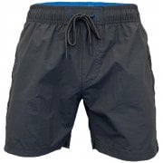 Crosshatch Mens Designer Army Mansons Swimming Trunks Shorts Charcoal