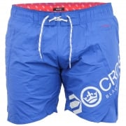 Crosshatch Mens Designer Makins Swimming Trunks Shorts Monoco Blue