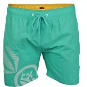 Crosshatch Mens Designer Ramirez Swimming Trunks Shorts Atlantis