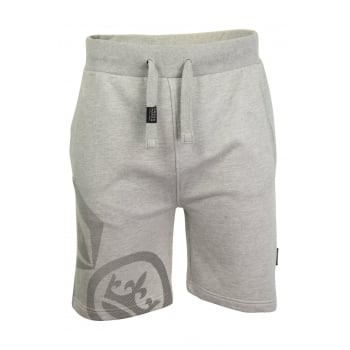 Crosshatch Mens New Designer Ormiston Jogger Casual Shorts Light Grey