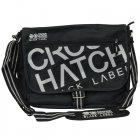 Nabure Messenger Bag Laptop School College Black