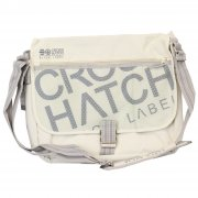 Nabure Messenger Bag Laptop School College Vapour Grey