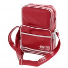 Walbrook PU Crossbody Messenger Travel Bag Red