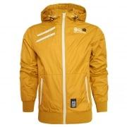 Crosshatch Windbreaker Jacket Lightweight Zip Summer Larksy Hooded Top Mineral