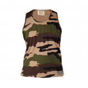 Duke 555 Corps Camouflage Military Muscle Vest Woodlands Green