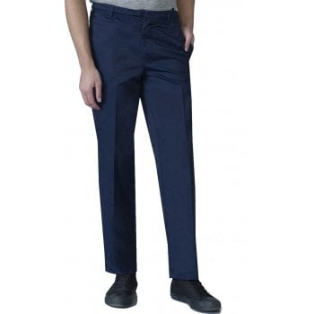 D555 Mens Quality Basilio Rugby Elasticated Waist Leisure Trousers Navy