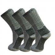 Fresh Feel New Socks Mens Merino Wool Boot Socks Adults 3 Pairs