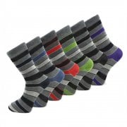 Design Socks Mens Coloured Design Socks Smart Suit Work Golf Cotton Blend Adults 6 Pairs