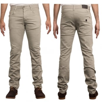 Enzo-Jeans Enzo New Mens Skinny Slim Fit Stetch Designer Stone Jeans Chinos