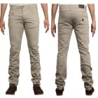 Enzo New Mens Skinny Slim Fit Stetch Designer Stone Jeans Chinos