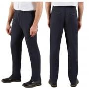 Farah Classic Mens Crane Soft Twill Chino Vintage Straight Leg Trouser Navy