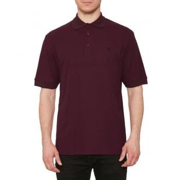 Farah Mens Casual Cove Polo Shirts Oxford Melange