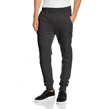 Firetrap Mens Ivon Slim Fit Sweat Pants Jogging Bottoms Charcoal Marl