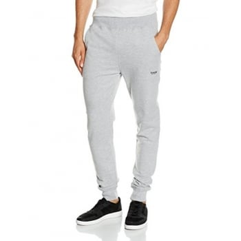 Firetrap Mens Ivon Slim Fit Sweat Pants Jogging Bottoms Grey Marl