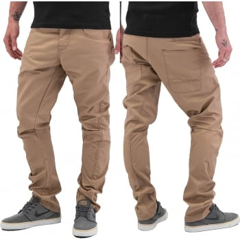 "Jack & Jones 36"" Leg Dale Colins Twisted Chinos Cornstalk"