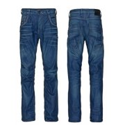 """38"""" Leg Designer Boxy Powell Loose Fit Jeans 851 Blue Used"""