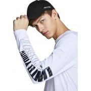 Jack & Jones Adults Basic Logo Baseball Caps Black