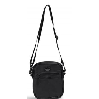 Jack & Jones Adults Leather PU Small Travel Sling Bag