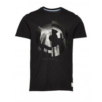 Jack & Jones Casual Designer Crew Neck Joly T-Shirt Black