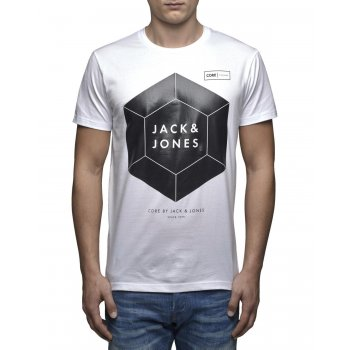 Jack & Jones Casual Designer Crew Neck Joly T-Shirt White