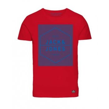 Jack & Jones Casual Designer Dry T Shirt Red