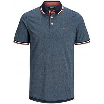 Jack & Jones Casual Paulos Regular Fit Polo Shirts Denim Blue
