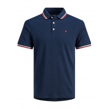 Jack & Jones Casual Paulos Regular Fit Polo Shirts Navy Blazer