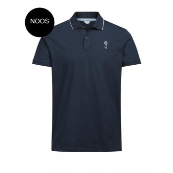 Jack & Jones Casual Stone Regular Fit Polo Shirts Sky Captain
