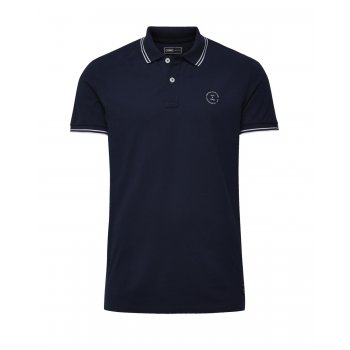 Jack & Jones Casual Thom Regular Fit Polo Shirts Dress Blues