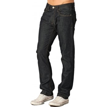 Jack & Jones Clark 008 Original Straight Leg Jeans Raw Look