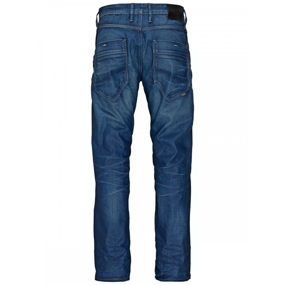 mens jack jones designer boxy powell loose fit jeans 831. Black Bedroom Furniture Sets. Home Design Ideas