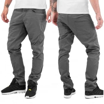 Jack & Jones Designer Dale Colins Twisted Chino's Grey