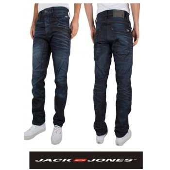 Jack & Jones Designer Stan JJ Carbon AntiFit Jeans 892